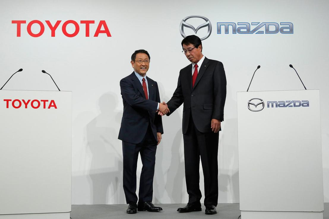Joint Assembly Plant coming to U.S. by Toyota and Mazda