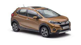Honda shows off the WR-V for India